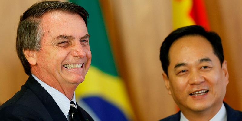 Parceria Bolsonaro a China