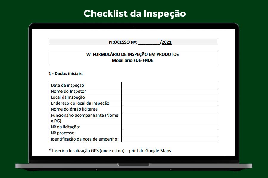 Checklist de Inspeção